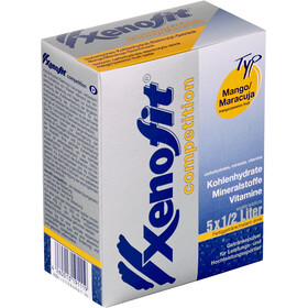 Xenofit Competition Carbohydrate Drink Sports Nutrition Mango-Maracuja 5 x 42g grey/blue